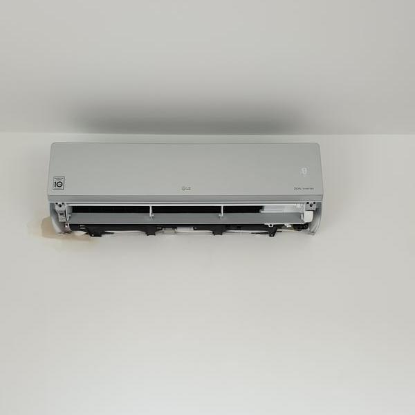 biały klimatyzator 33